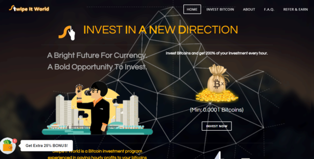 www.swipeitworld.win - Trusted Bitcoin Investment Program